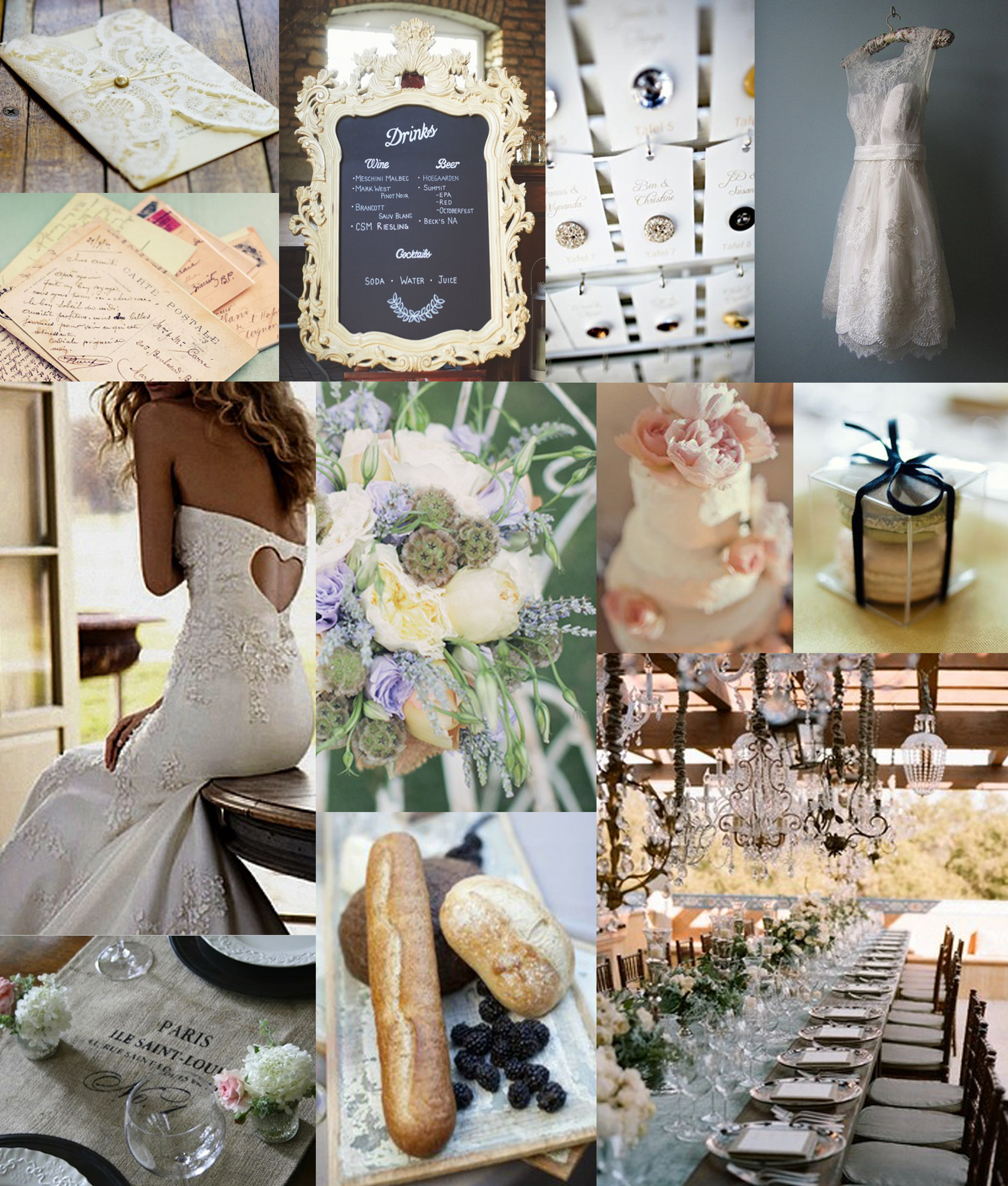 French Inspired Wedding
